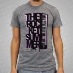 The Rocket Summer Keyboard Heather Grey T-Shirt