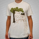 The Rocket Summer Leaves Owl Natural T-Shirt