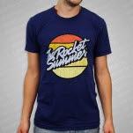 The Rocket Summer Vintage Sun Tri Indigo T-Shirt
