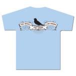 The Snake The Cross The Crown Bird Light Blue T-Shirt