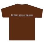 The Snake The Cross The Crown Logo Brown T-Shirt