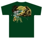 The Sound Of Animals Fighting CatAlyst Green T-Shirt