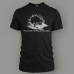 The Sound Of Animals Fighting Classic Tri Black T-Shirt
