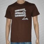 The Spill Canvas Skeleton Brown T-Shirt