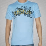 The Status Logo Light Blue T-Shirt