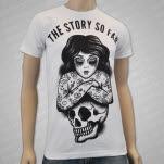 The Story So Far Girl And Skull White T-Shirt