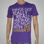 The Summer Set Awkward Purple T-Shirt