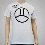 The Summer Set Sad Face White T-Shirt