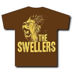 The Swellers Lion Brown T-Shirt