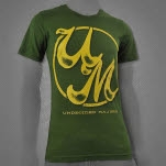 The Undecided Majors UM Olive Green T-Shirt