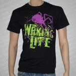 The Waking Life Spider Black T-Shirt