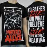 The Word Alive Id Rather Die Black T-Shirt