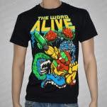 The Word Alive Laser Man Black T-Shirt