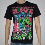 The Word Alive Turtles Black T-Shirt