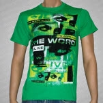 The Word Alive Vibrations Green T-Shirt