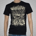 official The Word Alive Wolf Black T-Shirt