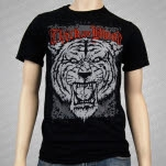 official Thick As Blood Tiger Black T-Shirt