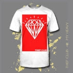 Thief Club Diamond White T-Shirt