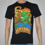 Think Fast Records Sea Creature Black T-Shirt