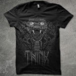 Think Movement Cobra Black T-Shirt