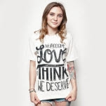 Think Movement Wallflower Sand T-Shirt