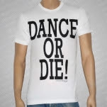 This City Is Burning Records Dance or Die White T-Shirt