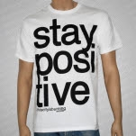 This City Is Burning Records Stay Positive White T-Shirt