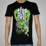 This Is Hell War Bird Black T-Shirt