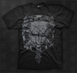 This Or The Apocalypse Bull And Bones Black T-Shirt