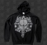 This Or The Apocalypse Bull And Bones Black Hoodie Zip