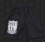 This Or The Apocalypse Crest Black Mesh Shorts