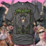 This Or The Apocalypse Death Drop Charcoal T-Shirt