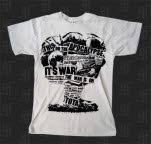 This Or The Apocalypse Mushroom Cloud White T-Shirt