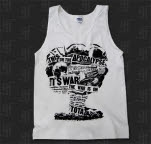 This Or The Apocalypse Mushroom Cloud White Tank Top