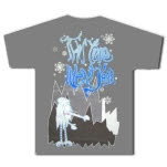 This Time Next Year Abominable Snowman Gray T-Shirt