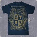 This Time Next Year Drop Out Of Life Crest Navy T-Shirt