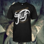 Those Who Fear Curve Logo Black T-Shirt