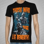 Those Who Lie Beneath Creatures From Hell Black T-Shirt
