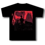 Thrice Red Person On Black T-Shirt