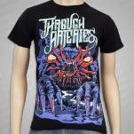 Through Arteries Mole Beast Black T-Shirt