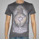 Through The Eyes Of The Dead Mothman Charcoal Gray T-Shirt