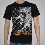Through The Fire Dog Black T-Shirt