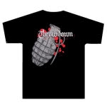 Throwdown Big Grenade Black T-Shirt