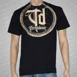 Throwdown Circle Snake Black T-Shirt