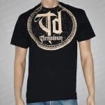 Throwdown Circle Snake Black T-Shirt