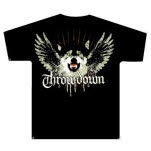 Throwdown Wolf Black T-Shirt