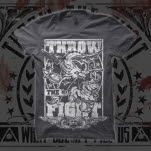 Throw The Fight Dragon Charcoal T-Shirt