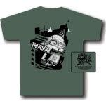 Thursday Clock Tower Green T-Shirt