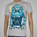 Tides Of Man Owl Light Gray T-Shirt