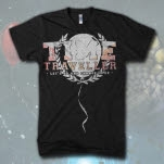 official Time Traveller Balloon Black T-Shirt